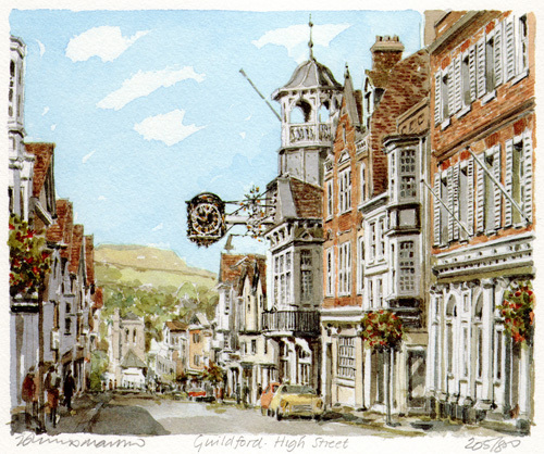 Guildford High Street(2) by Philip Martin