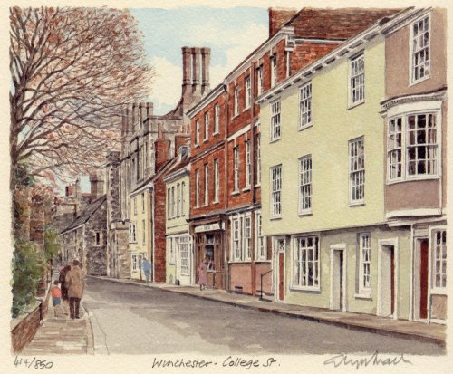 Winchester - College St by Glyn Martin