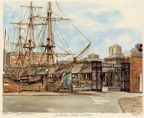 Tobacco Dock by Philip Martin