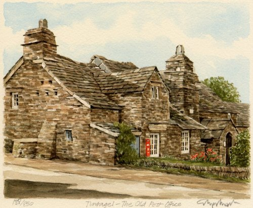 Tintagel - Old Post Office by Glyn Martin
