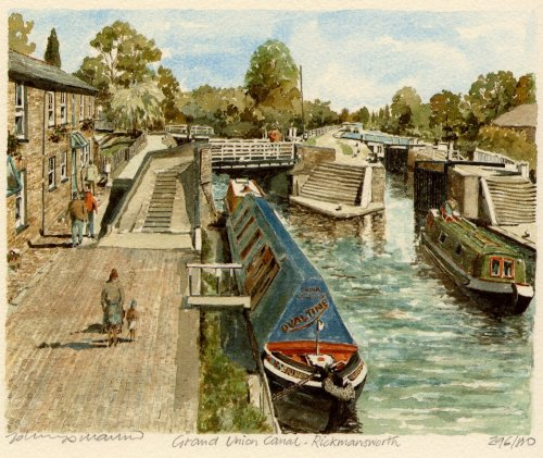 Rickmansworth - G. U. Canal by Philip Martin