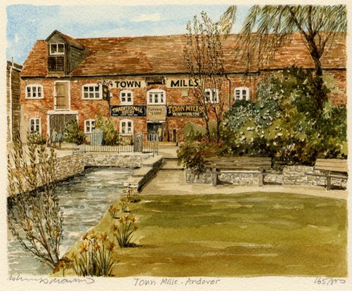 Andover - Town Milll by Philip Martin