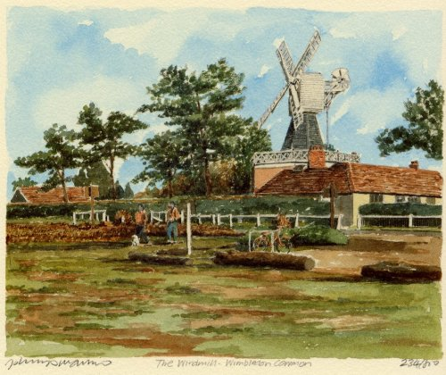 Wimbledon Common - Windmill by Philip Martin