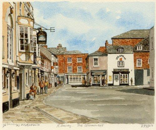 Romsey - Cornmarket by Philip Martin