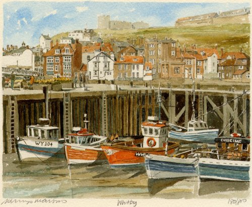 Whitby (landscape) by Philip Martin