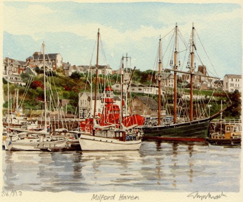 Milford Haven by Glyn Martin
