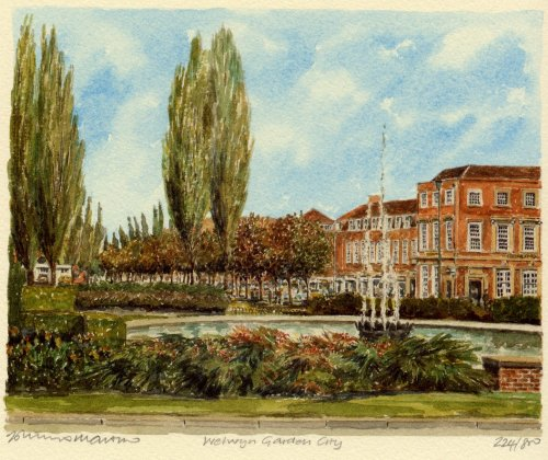 Welwyn Garden City (2) by Philip Martin
