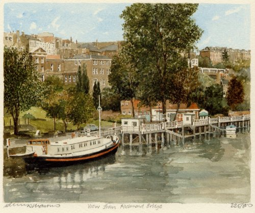 From Richmond Bridge by Philip Martin