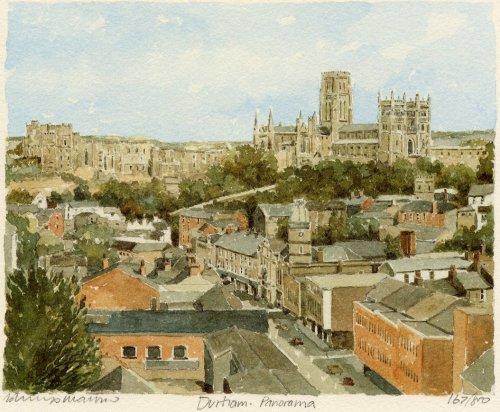Durham - panorama by Philip Martin