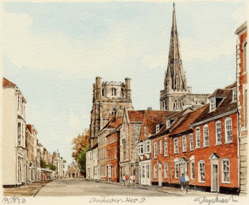 Chichester - West Street by Glyn Martin