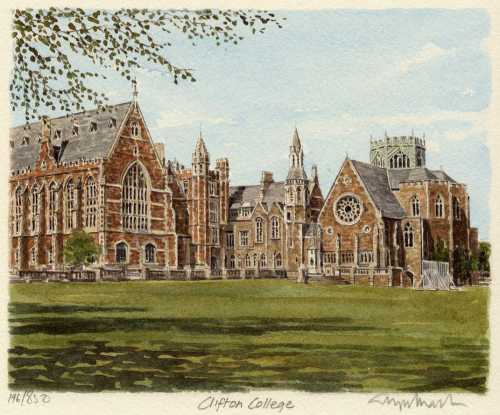 Bristol - Clifton College by Glyn Martin