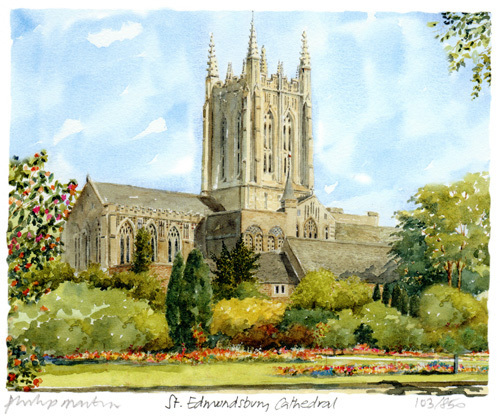 St Edmundsbury Cathedral by Philip Martin