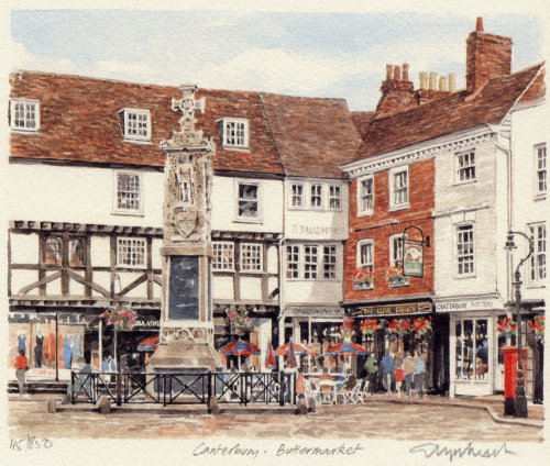 Canterbury - Buttermarket by Glyn Martin