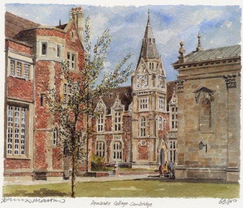 Pembroke College by Philip Martin
