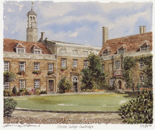 Christ's College by Philip Martin