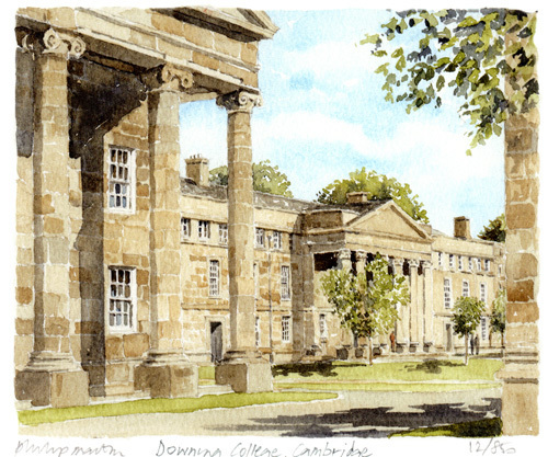 Downing College by Philip Martin