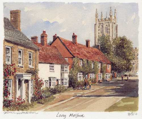 Long Melford by Philip Martin