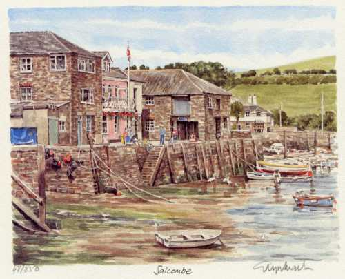 Salcombe - Harbour by Glyn Martin