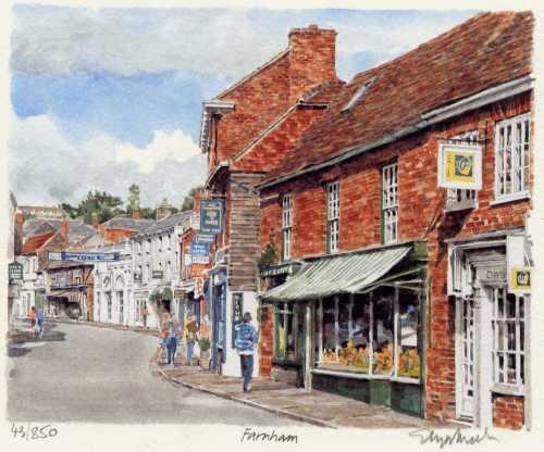 Farnham - Downing Street by Glyn Martin