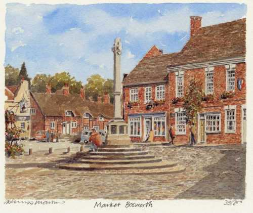 Market Bosworth by Philip Martin