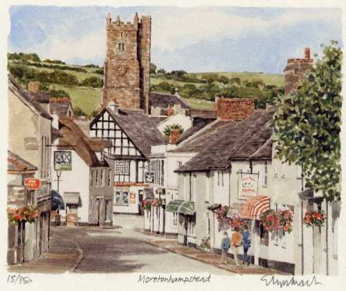 Moretonhampstead by Glyn Martin