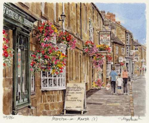 Moreton in Marsh (2) by Glyn Martin