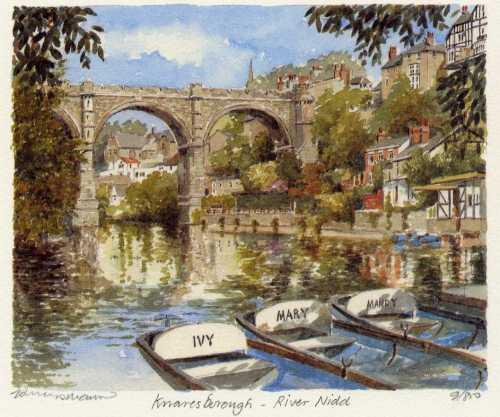 Knaresbourgh - River Nidd by Philip Martin