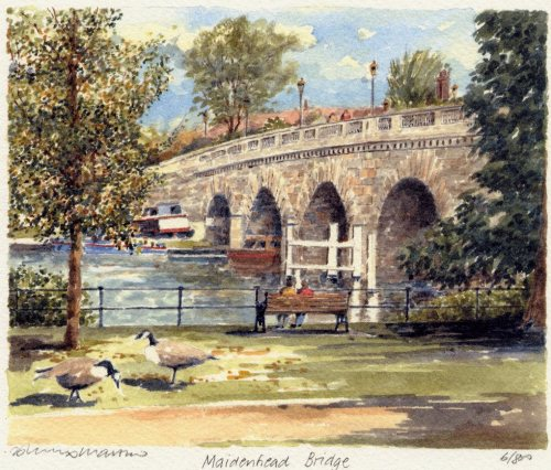 Maidenhead Bridge (2) by Philip Martin