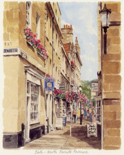 Bath - North Parade Passage by Glyn Martin