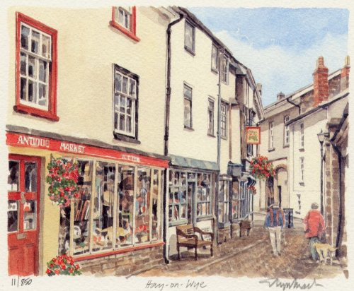 Hay on Wye (2) by Glyn Martin