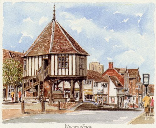 Wymondham by Philip Martin