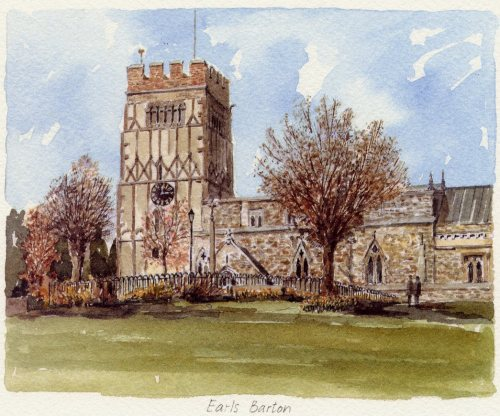 Earls Barton by Philip Martin