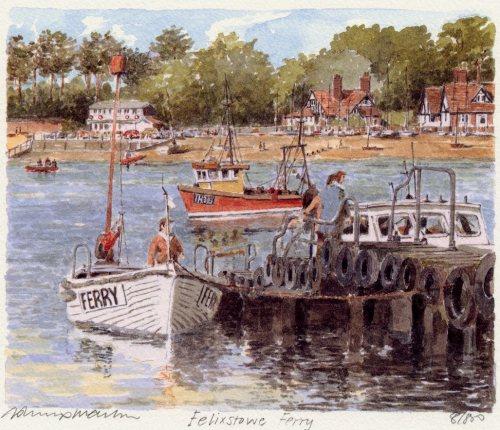 Felixstowe Ferry by Philip Martin