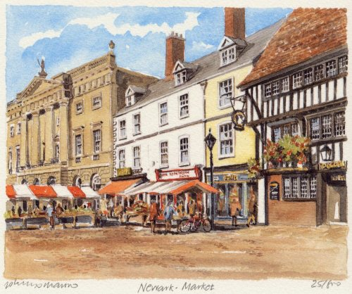 Newark - Market by Philip Martin