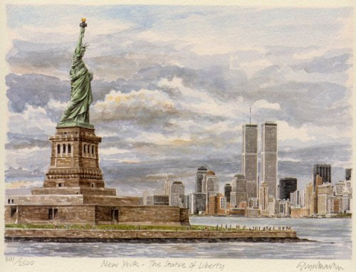 New York - Statue of Liberty by Glyn Martin