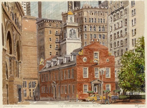 Boston - Old State House by Philip Martin