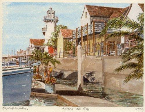 Marina Del Ray by Philip Martin