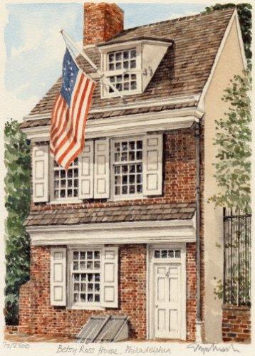 Philadelphia - Betty Ross Hse. by Glyn Martin