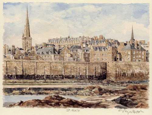 St. Malo by Glyn Martin