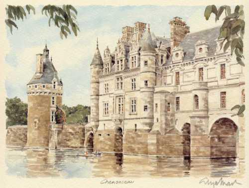 Chenonceau by Glyn Martin