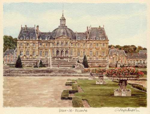 Vaux-le-Vicomte by Glyn Martin