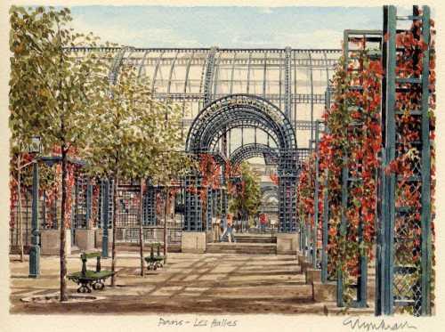 Paris - Les Halles by Glyn Martin