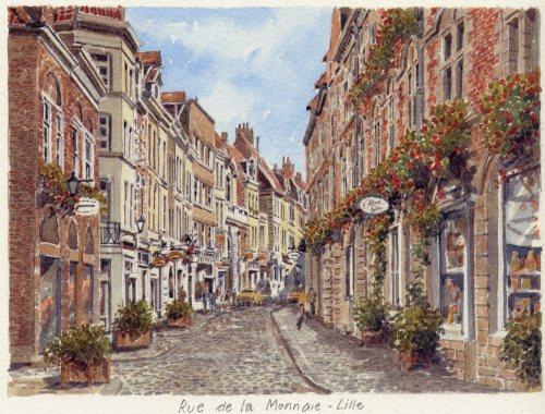 Lille - Rue de la Monnaie by Philip Martin