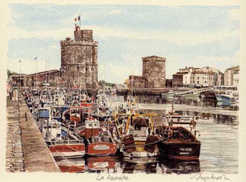 La Rochelle by Glyn Martin