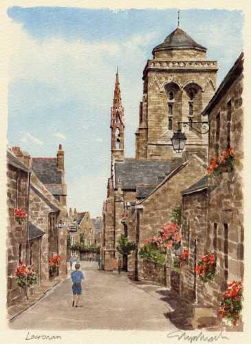 Locronan by Glyn Martin