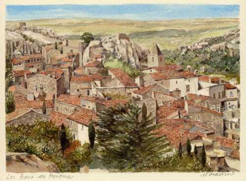 Les Baux de Provence by Philip Martin