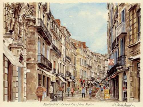 Grand Rue Jean Moulin by Glyn Martin