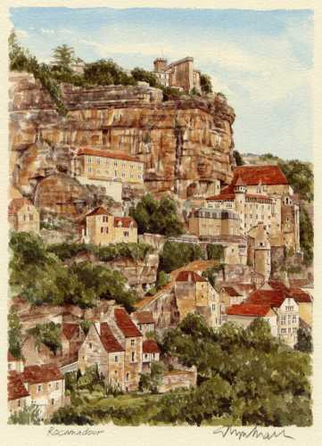 Rocamadour by Glyn Martin