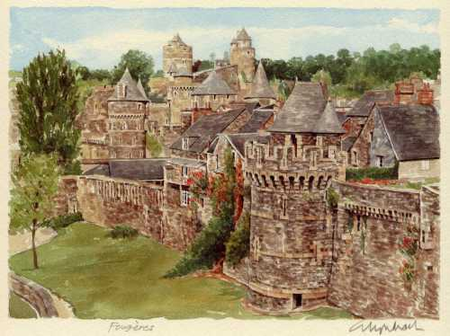 Fougeres by Glyn Martin