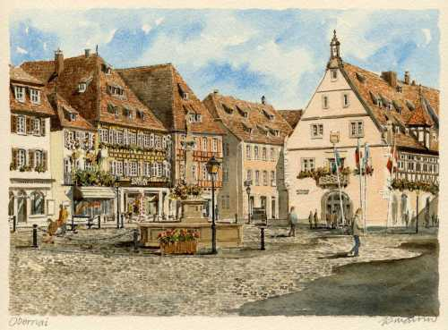 Obernai by Philip Martin